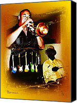 Fife Wa Photo Canvas Prints - Jazz Trumpet and Drums Canvas Print by Sadie Reneau