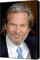 Ironman Canvas Prints - Jeff Bridges At Arrivals For Premiere Canvas Print by Everett