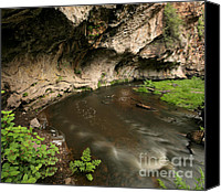 Santa Fe Canvas Prints - Jemez River Tunnel Canvas Print by Matt Tilghman