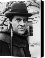 Holm Canvas Prints - Jeremy Brett (1935-1995) Canvas Print by Granger