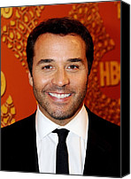 Golden Globe Canvas Prints - Jeremy Piven At The After-party For Hbo Canvas Print by Everett