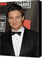 Awards Canvas Prints - Jeremy Renner At Arrivals For 16th Canvas Print by Everett