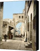 Ecce Canvas Prints - Jerusalem: Via Dolorosa Canvas Print by Granger