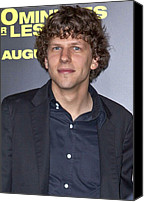Minutes Photo Canvas Prints - Jesse Eisenberg At Arrivals For 30 Canvas Print by Everett