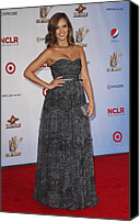 2011 Nclr Alma Awards Photo Canvas Prints - Jessica Alba Wearing A Dress By Michael Canvas Print by Everett