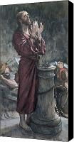 Talking Canvas Prints - Jesus in Prison Canvas Print by Tissot