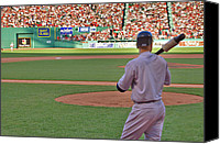 Derek Canvas Prints - Jeter Canvas Print by Joann Vitali
