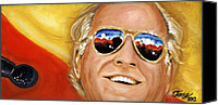 Buffet Canvas Prints - Jimmy Buffet At The Jazz Fest Canvas Print by Terry J Marks Sr