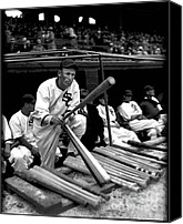 White Sox Canvas Prints - Joe Chamberlain - Chicago White Sox Canvas Print by David Bearden