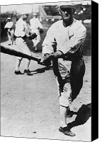 White Sox Canvas Prints - Joe Jackson (1889-1991) Canvas Print by Granger