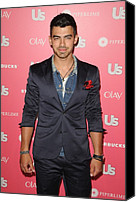 Half-length Canvas Prints - Joe Jonas Wearing A Calvin Klein Suit Canvas Print by Everett