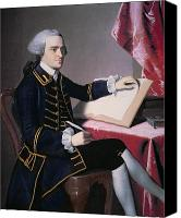 1776 Canvas Prints - John Hancock Canvas Print by John Singleton Copley