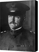 John Pershing Canvas Prints - John J. Pershing Canvas Print by War Is Hell Store