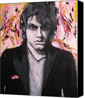 The Beatles. Celebrity Portraits Canvas Prints - John Mayer Canvas Print by Eric Dee