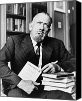 Van Dyke Canvas Prints - John Steinbeck 1902-1968, American Canvas Print by Everett