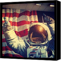 Nature Canvas Prints - Johnson Space Center #space #texas #nasa Canvas Print by Adam Romanowicz