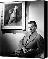 Publicity Shot Canvas Prints - Joseph Cotten, Warner Brothers, 1949 Canvas Print by Everett