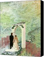 Engagement Canvas Prints - Journey of Marriage Canvas Print by Arlissa Vaughn
