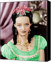 Gold Earrings Photo Canvas Prints - Juarez, Bette Davis, 1939 Canvas Print by Everett