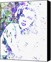 Actor Canvas Prints - Judy Garland Canvas Print by Irina  March