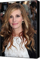 Alice Tully Hall At Lincoln Center Canvas Prints - Julia Roberts At Arrivals For The Film Canvas Print by Everett