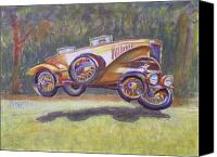 Gary Peterson Canvas Prints - Jumpin Auburn Car Canvas Print by Gary Peterson