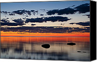 Door County Canvas Prints - Just Before Sunrise Canvas Print by Scott Norris