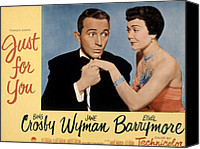 Fid Canvas Prints - Just For You, Bing Crosby, Jane Wyman Canvas Print by Everett