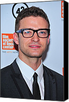 Alice Tully Hall At Lincoln Center Canvas Prints - Justin Timberlake At Arrivals For The Canvas Print by Everett