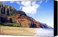 Kalalau Canvas Prints - Kalalau Beach Morning Kauai  Canvas Print by Kevin Smith
