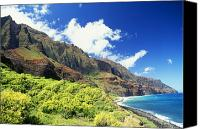 Kalalau Canvas Prints - Kalalau, Secluded Beach Canvas Print by Peter French - Printscapes