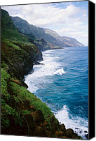 Kalalau Canvas Prints - Kalalau Trail Canvas Print by Kevin Smith