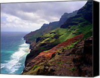 Kalalau Canvas Prints - Kalalau Trail Return  Canvas Print by Kevin Smith