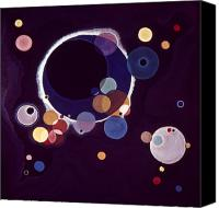 Modern Art Canvas Prints - Kandinsky: Circles, 1926 Canvas Print by Granger