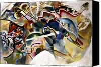 Faa Canvas Prints - Kandinsky: White, 1913 Canvas Print by Granger