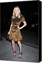 Cipriani Restaurant Wall Street Canvas Prints - Kate Bosworth Wearing A Burberry Canvas Print by Everett