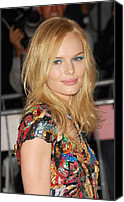 Metropolitan Museum Of Art Costume Institute Canvas Prints - Kate Bosworth Wearing A Vintage Chanel Canvas Print by Everett
