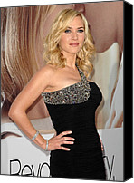 Half-length Canvas Prints - Kate Winslet Wearing A Balmain Dress Canvas Print by Everett