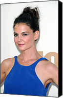 Nokia Theatre Canvas Prints - Katie Holmes At Arrivals For The 63rd Canvas Print by Everett