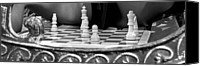 Chess Set Canvas Prints - Katryna 2-3 Canvas Print by David Miller