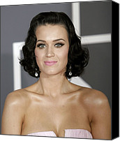 At Arrivals Canvas Prints - Katy Perry At Arrivals For Arrivals - Canvas Print by Everett