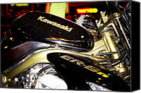 Editorial Canvas Prints - Kawasaki Canvas Print by Stylianos Kleanthous