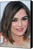 Red Carpet Canvas Prints - Keira Knightley At Arrivals For A Canvas Print by Everett