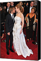 Academy Awards Oscars Canvas Prints - Keith Urban, Nicole Kidman At Arrivals Canvas Print by Everett
