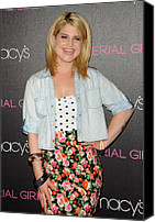 Half-length Canvas Prints - Kelly Osbourne At In-store Appearance Canvas Print by Everett