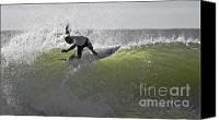 Kelly Slater Canvas Prints - Kelly Slater at the Quicksilver Pro 2011 Canvas Print by Scott Evers