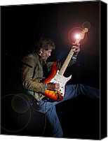 Kenny Canvas Prints - Kenny Loggins III Canvas Print by Bill Gallagher