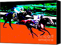 Preakness Canvas Prints - Kentucky Derby Canvas Print by RJ Aguilar
