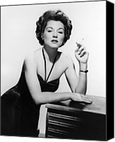 Publicity Shot Canvas Prints - Key Largo, Claire Trevor, 1948 Canvas Print by Everett