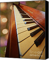 Baldwin Canvas Prints - Keys Canvas Print by Cheryl Young